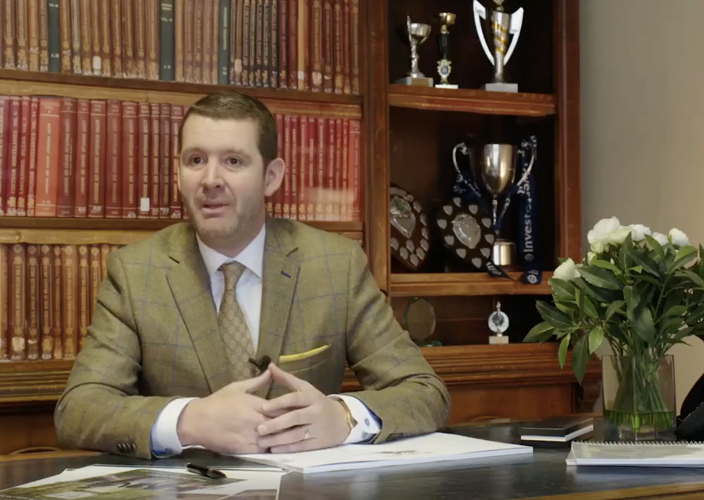 Jonathan Harrison in office