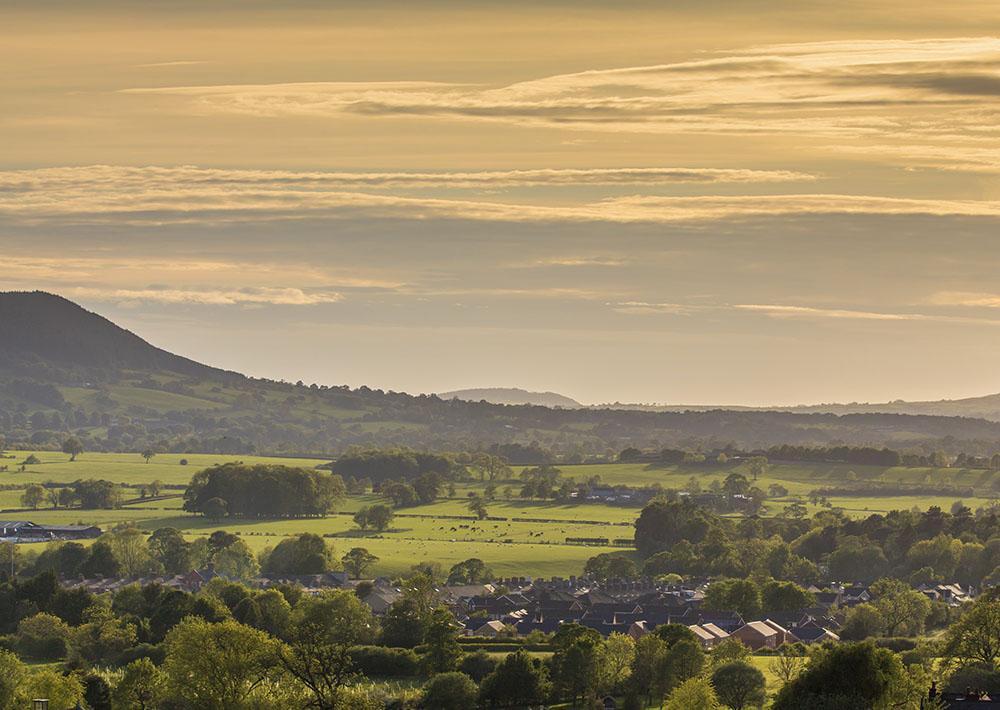 beautiful view of landscape