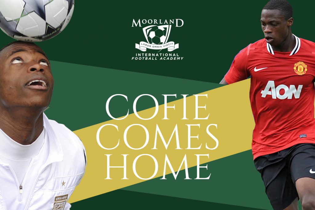 Cofie comes home poster