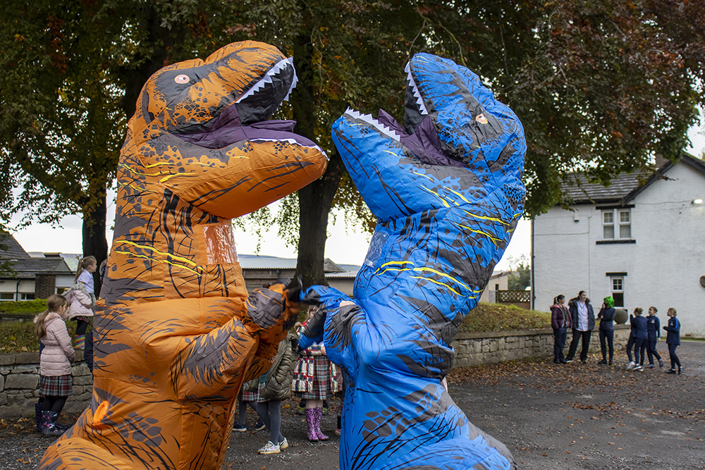 dinosaur suits