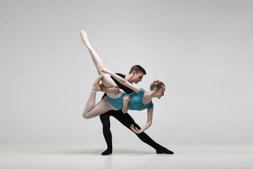 boy and girl ballet