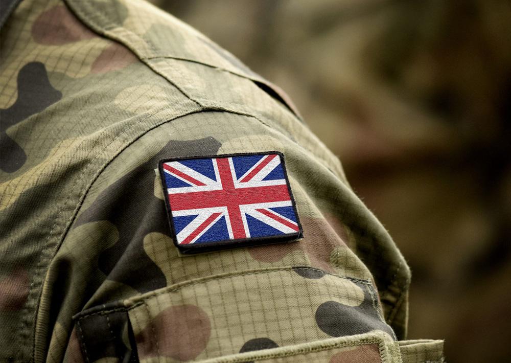 military UK flag